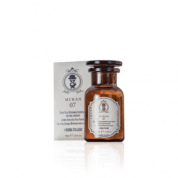 Дезинфицирующая соль для кожи головы MURÀN 07 (100 г)