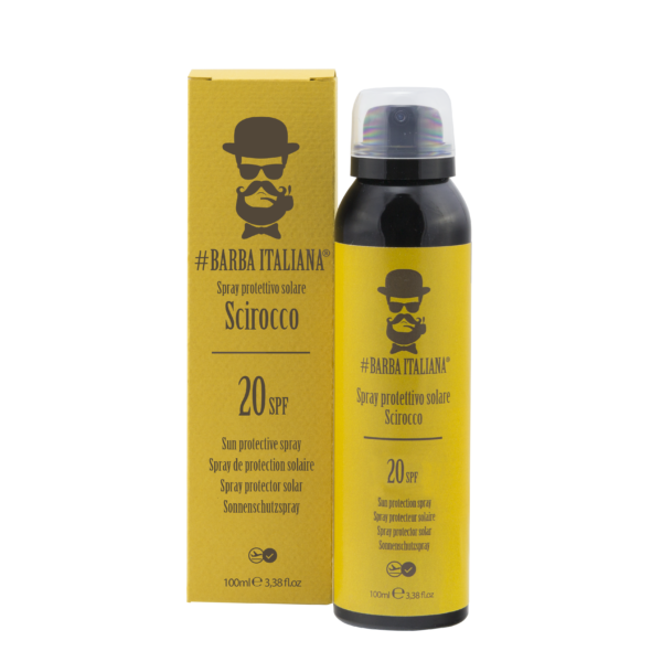 солнцезащитный крем SCIROCCO #Barba Italiana